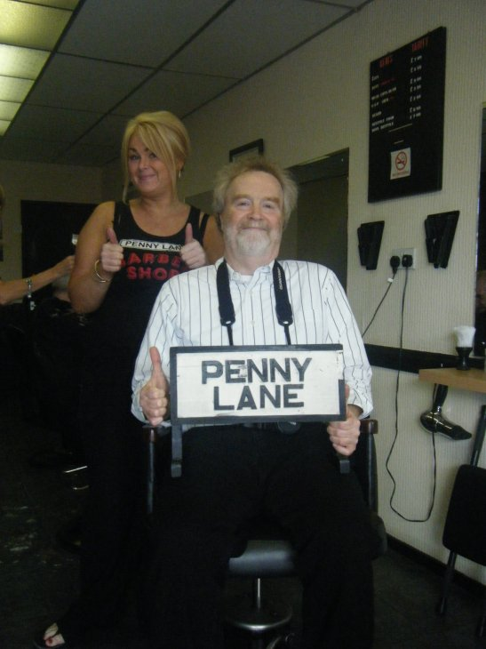 Penny lane barbers, liverpool